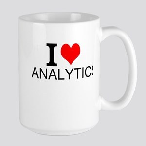 I Love Analytics Mugs